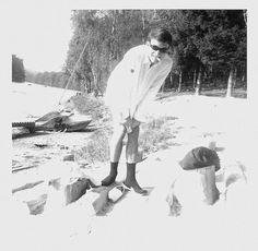 Photo: à Ruffaut le Nan's avec son pétarou !!