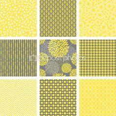 Seamless Patterns Set — Stock Illustration #9184213