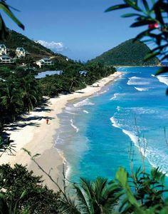 Paradise in Tortola, BVI.