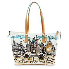Mickey and Minnie Mouse Shopper by Dooney & Bourke - Disneyland