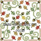 The Floss Box | Biscornu 551