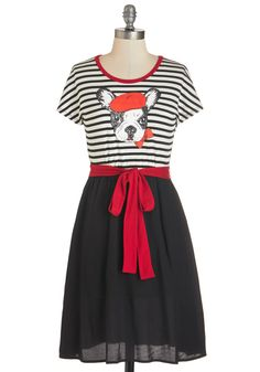 Catch Some Berets Dress, @ModCloth