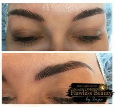 Microblading is a relatively new, manual method that allows to recreate, correct and improve the appearance of natural brow. This procedure is ideal for both people who have natural brows and those who don't. The results are natural looking and long lasting.