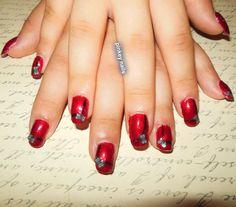 nail art bows with fimo, by sara facto