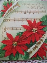Image result for vintage christmas poinsettia