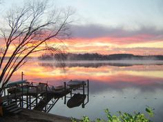 Lake Wylie Sunrise - Tega Cay South Carolina SC