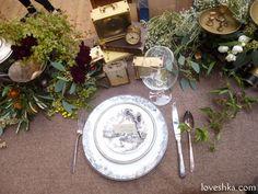 ゼクシィ掲載 / クラシック / テーブルアレンジ / アンティーク / ディスプレイ / ウェディング / 結婚式 / wedding / オリジナルウェディング / プティラブーシュカ