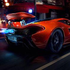 'Wild' McLaren P1