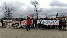 Concentración por la libertad de Nahuel, #AbsoluciónSXEMad, #Nahuel16MesesSecuestrado, Si nos tocan a una, nos tocan a todas, régimen FIES