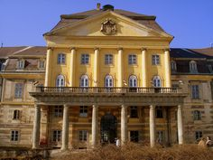 Körmend, Hungary. The Batthyány-Strattmann castle built in the 17th century.
