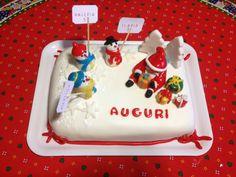 Torta di compleanno: I doni di Babbo Natale