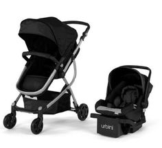 New Baby Strollers Urbini Omni 3-in-1 Reversible Toddlers Stroller Car Seat