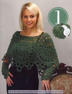 Un poncho con personalidad…. | Mi Rincon de Crochet
