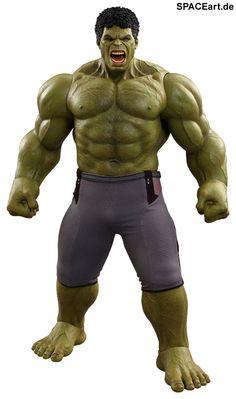 The Avengers 2: Hulk » Typ: Deluxe-Figur (voll beweglich) » Hersteller: Hot Toys » https://spaceart.de/produkte/tav009.php