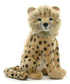 Look what I found on #zulily! Cheetah Cub Plush Toy by Hansa Toys #zulilyfinds