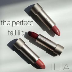Update your look with one of @iliabeauty 's fresh new shades of  ! Lucy's party the brides and my personal favorite Madam Mina!!