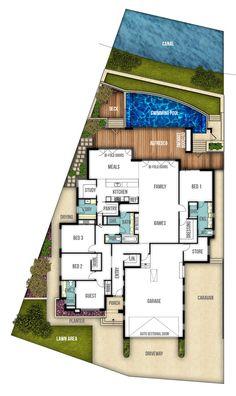 The Riverbank Single Storey House Plan By Boyd Design Perth