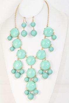 Francy Bubble Necklace Set