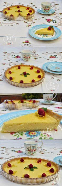 Tarta de limón y leche condensada / http://cavaru-misrecetasdecocina.blogspot.com.es/