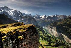 Lauterbrunnen Valley - Alpi svizzere