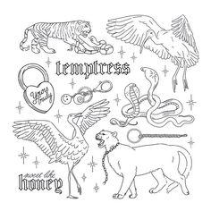 Sick Drawings, Cool Art Drawings, Tattoo Flash Sheet, Tattoo Flash Art, Tatuaje Old School, Kawaii Tattoo, Doodle Tattoo, Pisces Tattoos, Tattoo Flash