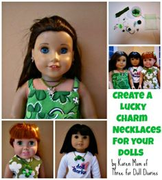 Doll Craft  Make Lucky Charm Necklaces