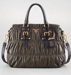 I wish - This Prada bag is over $1,500!  Maybe in my next life...