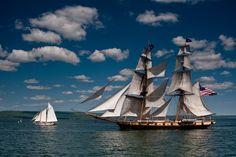 The Niagara, Duluth Tall Ships Festival by Brian Rauvola