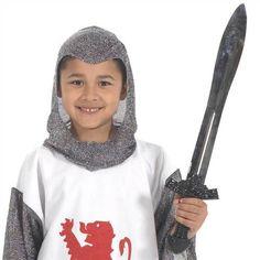 Medieval Knight Sword for Kids Fancy Dress Charlie Crow | eBay