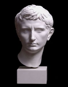Head of Augustus Plaster cast of a Roman original. Rome, Italy Museum of Classical Archaeology 611
