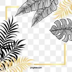 Black gold plant leaves hand painted border gold leaf PNG and PSD Hand Clipart, Leaf Clipart, Image Clipart, Poster Background Design, Leaf Background, Background Patterns, Adobe Photoshop, Cartoon Leaf, Eid Al-adha