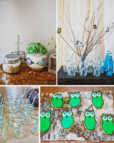 Owl Themed Shower - A little Savvy Event