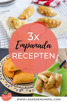 Sweet Empanada Dough Recipe, Chicken Empanada Recipe, Chicken Empanadas, Blueberry Turnovers, Beef And Mushroom Pie, Lunch Snacks, Baked Shrimp, Colombian Food, Cookery Books