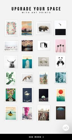 Click through this pin to unlock 15% off + free shipping! Society6 is home to hundreds of thousands of artists from around the globe, uploading and selling their original works as 30+ premium consumer goods from Art Prints to Throw Blankets. They create, we produce and fulfill, and every purchase pays an artist.