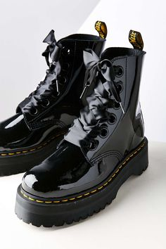 Dr. Martens Molly Patent Leather Lolita Boot
