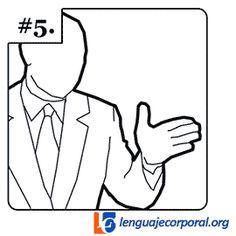 La Palma Lateral  no es agresiva,  es  persuasivo,  con los dedos separados comunica flexibilidad y disposición al trabajo en equipo  o con los dedos juntos denotando dirección y autoafirmación. Con una sola mano, la palma lateral es casi un deseo de acercarse a la audiencia y tocarla.