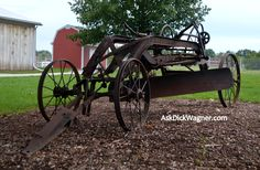 I think this was made by Caterpillar in the early 1900's.  This is at Erie County Fairgrounds, Sandusky, OH