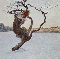 Giovanni Segantini, The Evil Mother - favourite painter of Jan Walach (1884-1979).
