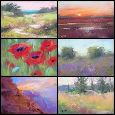Extreme Plein Air ...You Can Take Pastels Anywhere, painting by artist Karen Margulis
