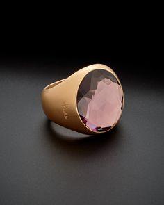 Pomellato Narciso 18K Amethyst Ring.  Such a lovely ring!
