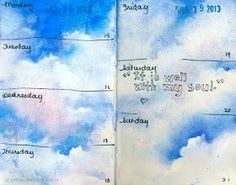 Jenny's Sketchbook: July Journal Pages... and a Beach Excursion