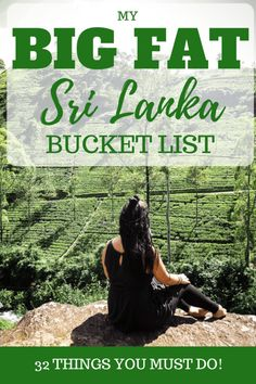 My big fat sri lanka bucket list 32 amazing things to do in sri lanka 50 important tips for traveling in sri lanka thats what she had Holiday Destinations, Travel Destinations, Travel Tips, Travel Ideas, Travel Plan, Travel Money, Travel Checklist, Travel Goals, Oahu