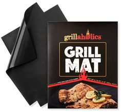 Grillaholics Grill Mat - Lifetime Guarantee - Set of 2 Nonstick BBQ Grilling Mats - x 13 Inch -- For more information, visit image link. Grill Grates, Bbq Grill, Clean Grill, Pumpkin Waffles, Grill Accessories, Best Bbq, Large Backyard, Tropical Backyard, Bbq Tools