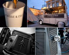 Attridge & Cole :: Coffee & Citroen I love coffee. I love Citroens. What could be better than hand crafted coffee served from a Citroen? Attridge & Cole serves loving cups of the brew in Northern Ireland. Via Remodelista