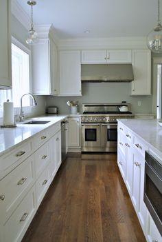 Charmant Kitchen White Oak Hardwood Floor Best Type Of Hardwood Floor For Kitchens  White Oak Haru2026 | Home | Pinterest | Oak Hardwood Flooring, Kitchen White  And White ...