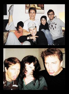 And why is this image extra awesome? Besides being the Torchwood gang goofing around, DAVID TENNANT IS WITH THEM!!!!!!!!