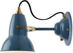 Original 1227 Brass Wall light brass and gray $230 l Light