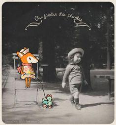 Le lapin dans la lune - Non dairy Diary - At the Jardin desPlantes