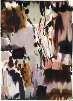 Lourdes Sanchez, untitled floral 6 2013, watercolor