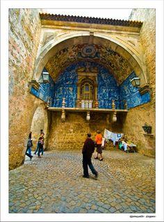 Town Gate in Óbidos, Portugal